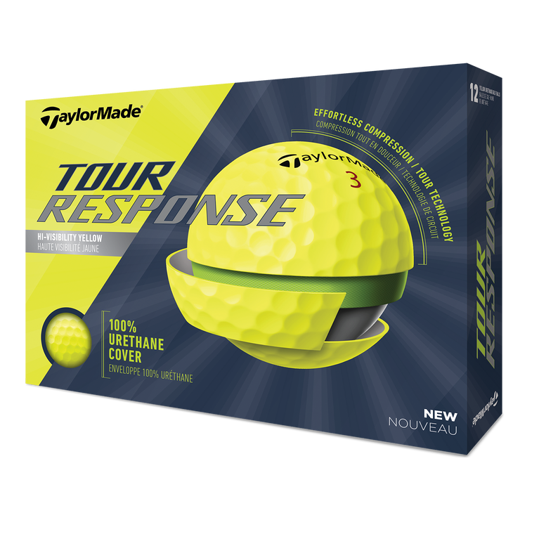 Tour Response Yellow Golf Balls
