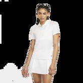Dri-FIT Women's Grid Print Short Sleeve Polo Shirt