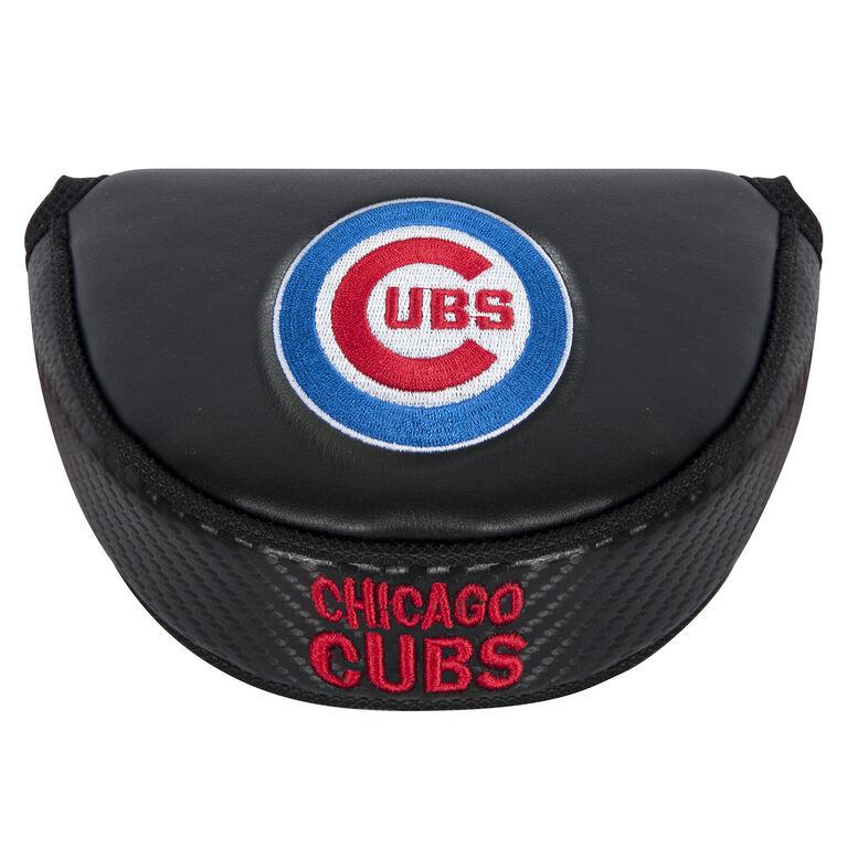Team Effort Chicago Cubs Black Mallet Putter Cover