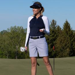 Reposado Collection: Play Off Circle Dash Golf Short