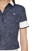 Alternate View 4 of Lexie Short Sleeve Dot Polo Shirt