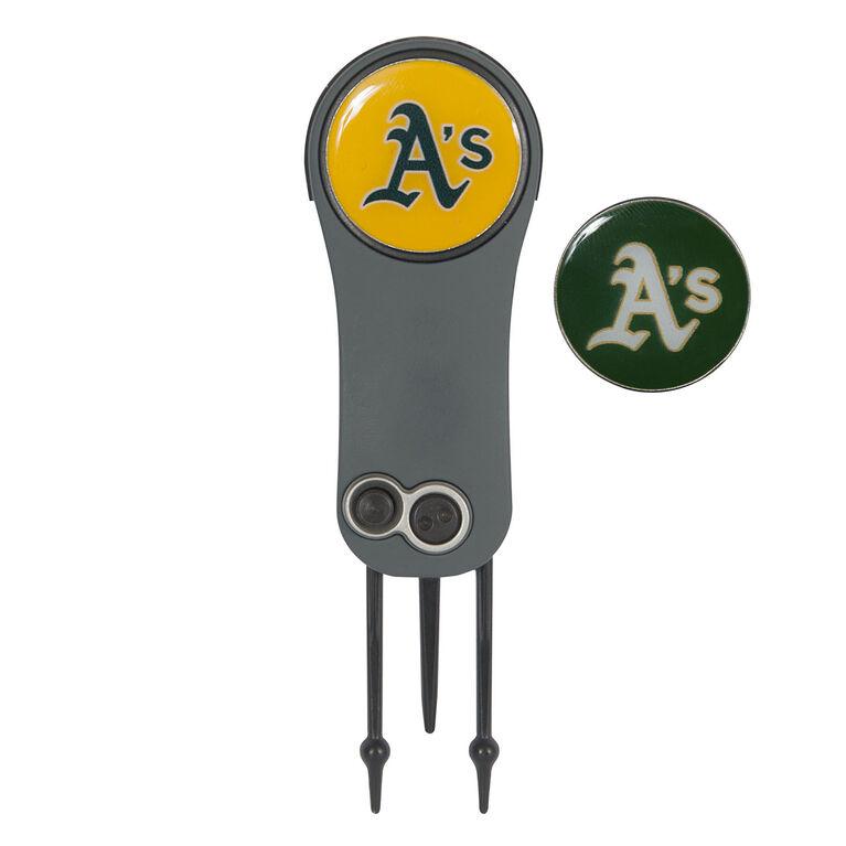 Team Effort Oakland Athletics Switchblade Repair Tool