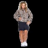 Animal Instincts Collection: Tatianna Cheetah Print Quarter Zip Pull Over