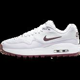 Alternate View 2 of Air Max 1 G Women's Golf Shoe - White/Purple