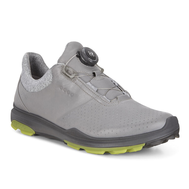 ECCO BIOM Hybrid 3 BOA Men's Golf Shoe - Grey