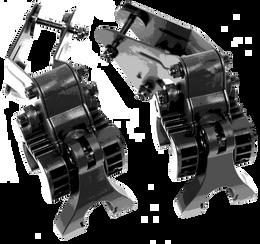 Club Booster eWheel Brackets - Clicgear Model 8 Cart