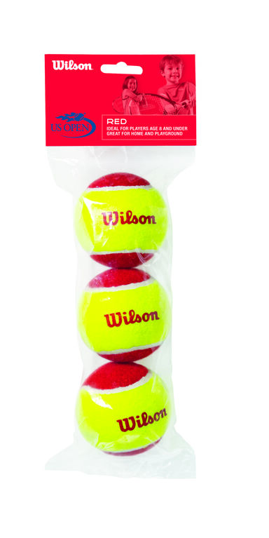 Wilson US Open Red Balls - 3 Pack