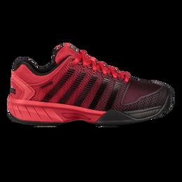 Hypercourt Express Junior Tennis Shoe - Black/Red