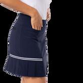 Alternate View 1 of Blueberry Pleated Tennis Skort