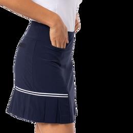 Blueberry Pleated Tennis Skort