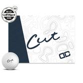 Cut DC White Golf Balls
