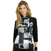 Pippin Group: 3/4 Sleeve Cinema Graphic Top
