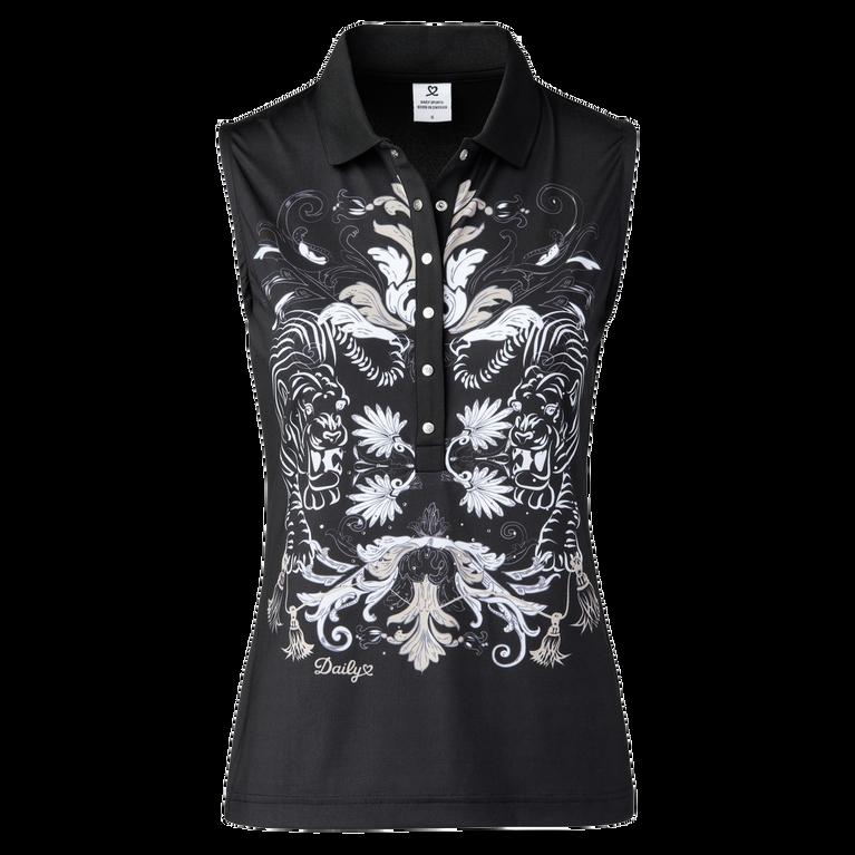 Tabby Sleeveless Polo Shirt