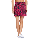 Alternate View 2 of Delicate Blooms Collection: Reagan Floranimal Pleated Skort