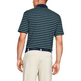 Alternate View 1 of Performance Textured Stripe Men's Golf Polo Shirt