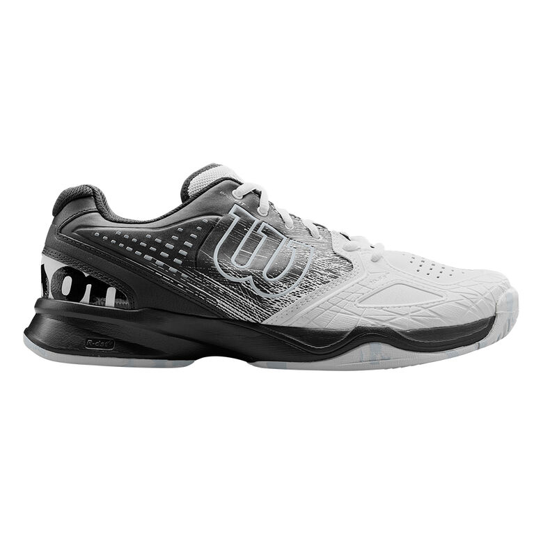 Wilson Kaos Comp Men's Tennis Shoe - White/Black