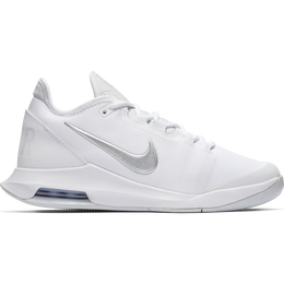 Air Max Wildcard Women's Tennis Shoe - White/Silver