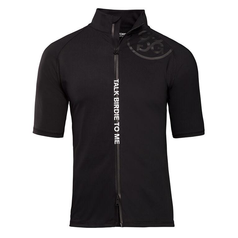 Short Sleeve Full Zip Mid Layer Jacket