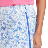 Vineyard Vines 17 Inch Tile Otomi Woven Golf Skort Blue Detail