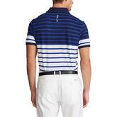 Alternate View 1 of Custom Slim Tech Piqué Polo Shirt