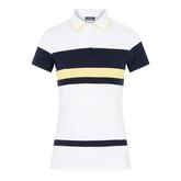 Alternate View 5 of Jade Short Sleeve Striped Polo Shirt