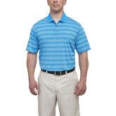 Short Sleeve Fine Line Stripe Polo