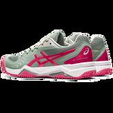 Alternate View 1 of Gel Challenger 12 Clay Women's Tennis Shoes - Grey/Pink