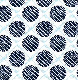 SolCool Seeing Spots Print Zip Mock