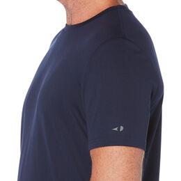 Men's Solid Crew Neck Tee Shirt