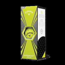 Callaway Superhot Bold Yellow Golf Balls 15-Pack