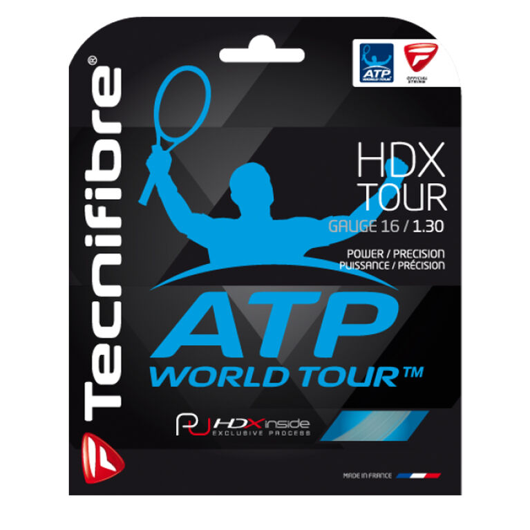Tecnifibre HDX Tour 16 Gauge String Set - Natural