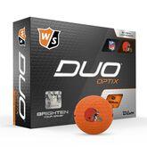 DUO Optix NFL Golf Balls - Cleveland Browns