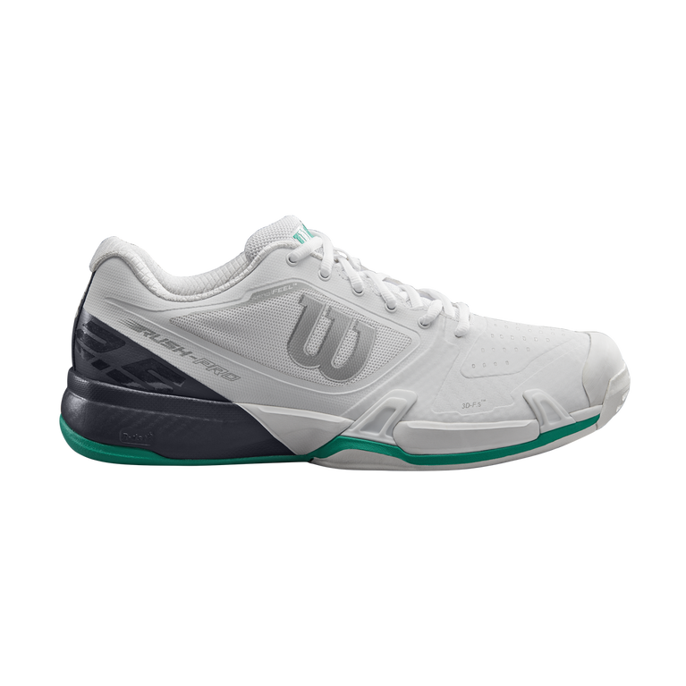 Rush Pro 2.5 Men's Tennis Shoe - White/Green