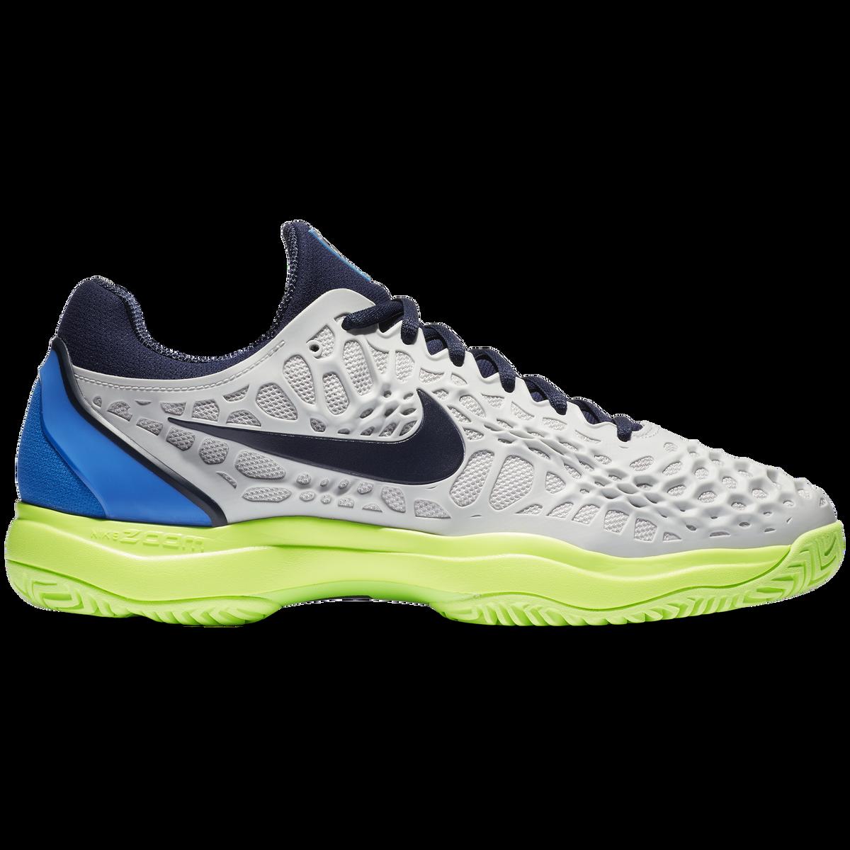 9d5bf96629c Images. Nike Zoom Cage 3 Men  39 s Tennis Shoe - Grey Blue