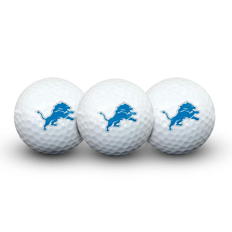 Team Effort Detroit Lions Golf Ball 3 Pack