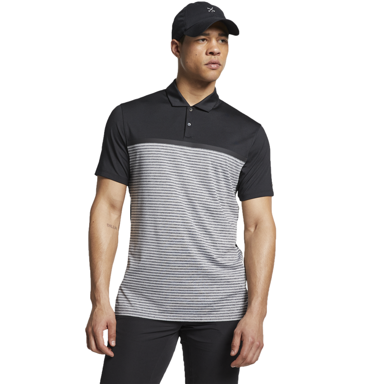 Dri-Fit Tiger Woods Vapor Stripe Block Polo