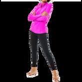 Justine Luxletic  Long Sleeve Solid Quarter Zip Pullover