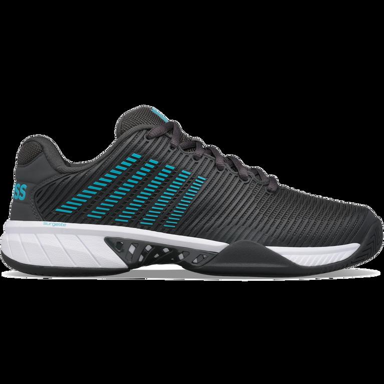 Hypercourt Express 2 Men's Tennis Shoe - Grey/Blue