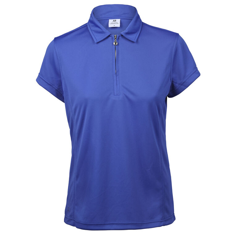 Daily Sports Macy Royal Short Sleeve Solid Polo