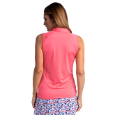 Alternate View 3 of Huntington Collection: Sleeveless Solid Hailey Polo