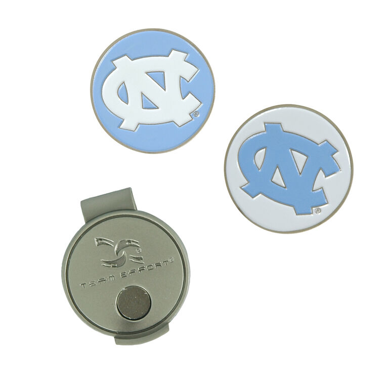 Team Effort North Carolina Tarheels Hat Clip