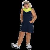 Alternate View 3 of Limonata Collection: Colorblock Sleeveless Dress