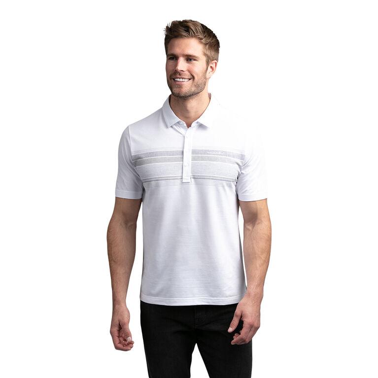 Kaibosh Short Sleeve Chest Stripe Polo