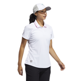 Alternate View 1 of Primegreen  Short Sleeve Print Collar Polo Shirt