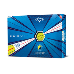 ERC Soft Golf Balls - Yellow