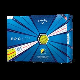 ERC Soft Yellow Golf Balls - Personalized