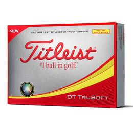 Titleist DT TruSoft Golf Balls - Yellow