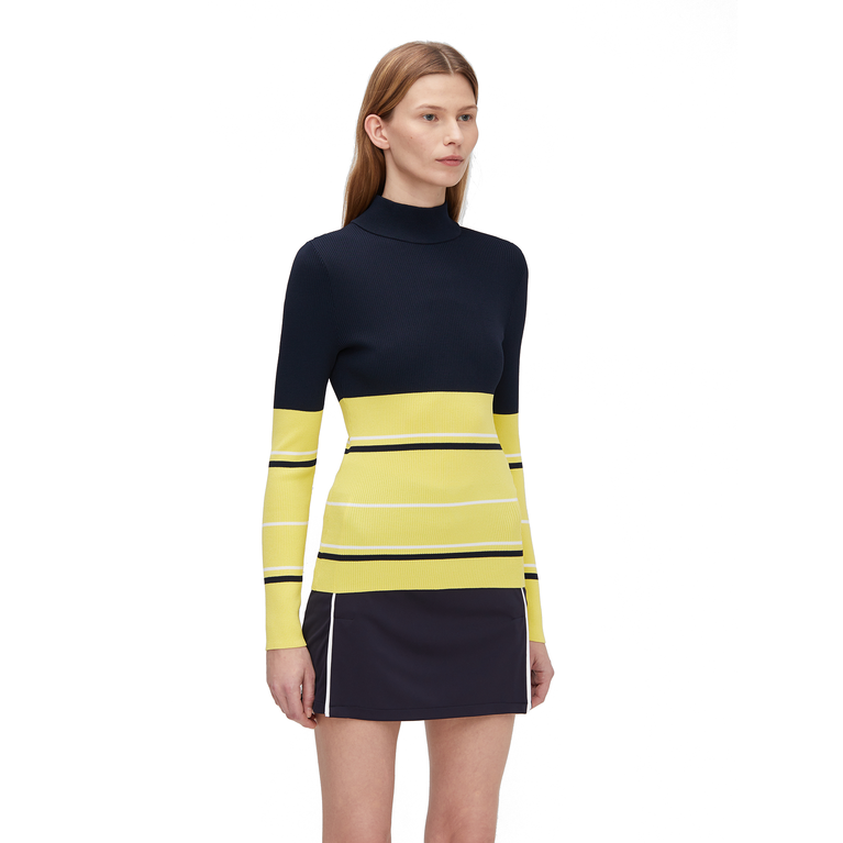 Bertha Long Sleeve Striped Sweater