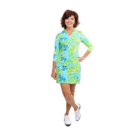 Doral Leaves Print Dress
