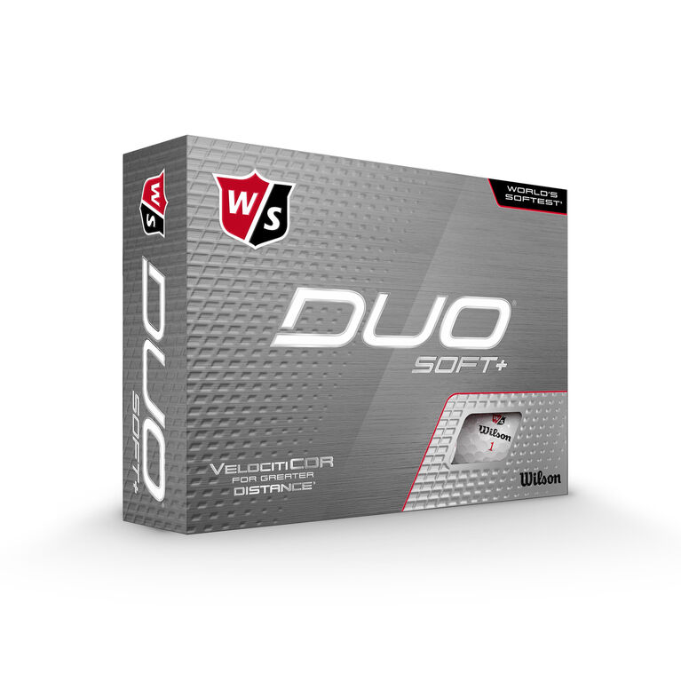 DUO+ Soft Golf Balls